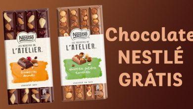 Chocolate Nestlé Grátis