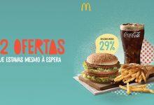 Cupões McDonald's até Abril de 2018