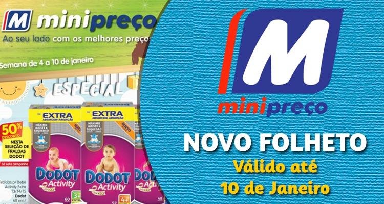 Folheto Minipreço até 10-01-2018