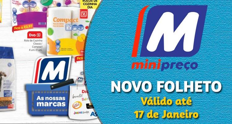 Folheto Minipreço até 17-01-2018