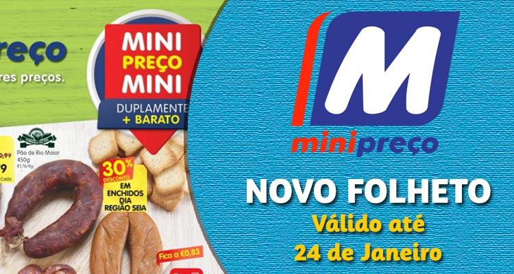 Folheto Minipreço até 24-01-2018
