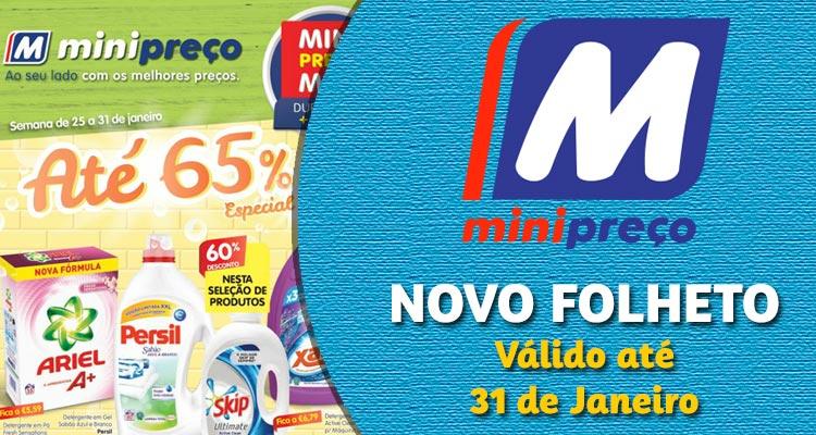 Folheto Minipreço até 31-01-2018