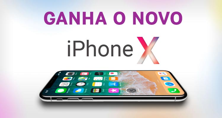 Ganha 1 iPhone X
