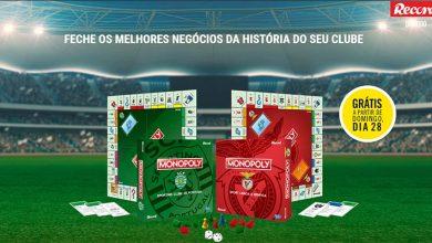 Monopoly Benfica e Sporting Grátis