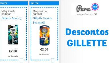 Descontos Gillette Para Mim