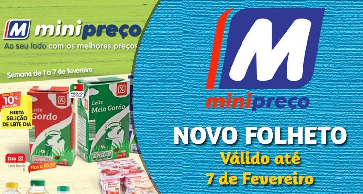 Folheto Minipreço até 07-02-2018