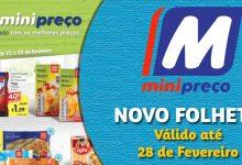 Folheto Minipreço até 28-02-2018