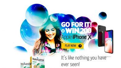 Ganha 1 iPhone X com Navigator