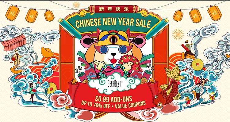 Photo of Promoções na Gearbest do Ano Novo Chinês