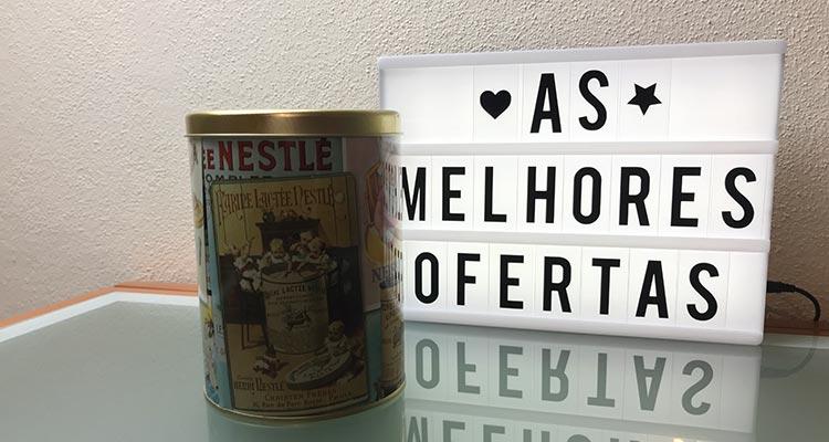 Recebido - Lata 150 Anos Nestlé