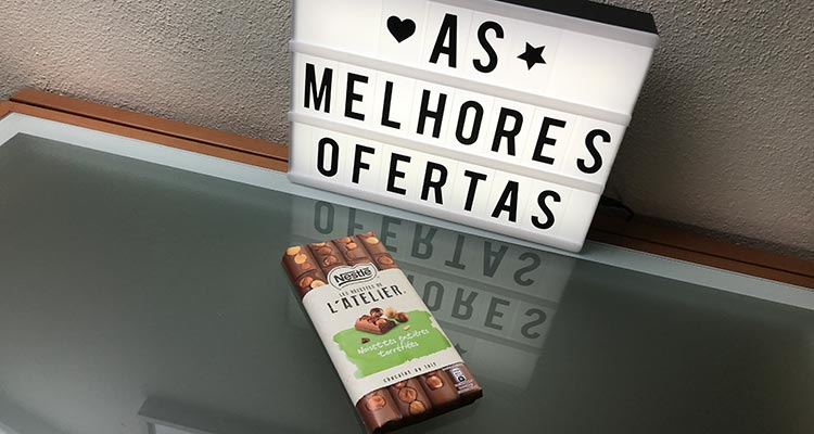 Recebido - Tablete de Chocolate Nestlé