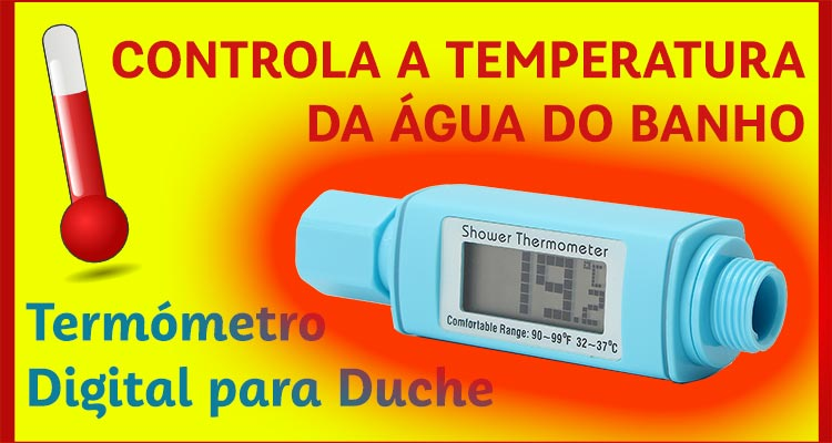 Termómetro Digital para Duche