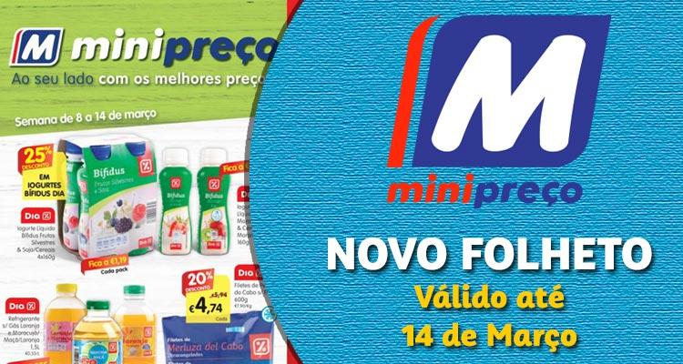 Folheto Minipreço até 14-03-2018
