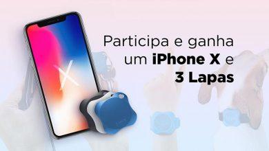 Ganha 1 iPhone X e 3 Lapas