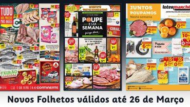 Novos Folhetos até 26-03-2018