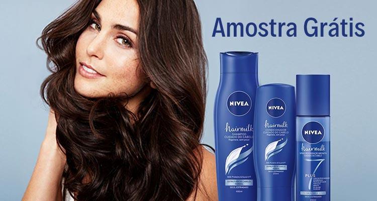 Photo of Amostras Grátis Nivea Hairmilk