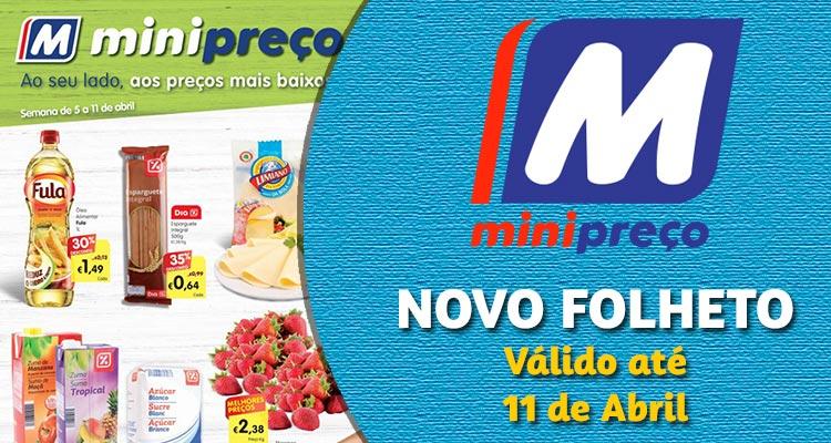 Folheto Minipreço até 11-04-2018