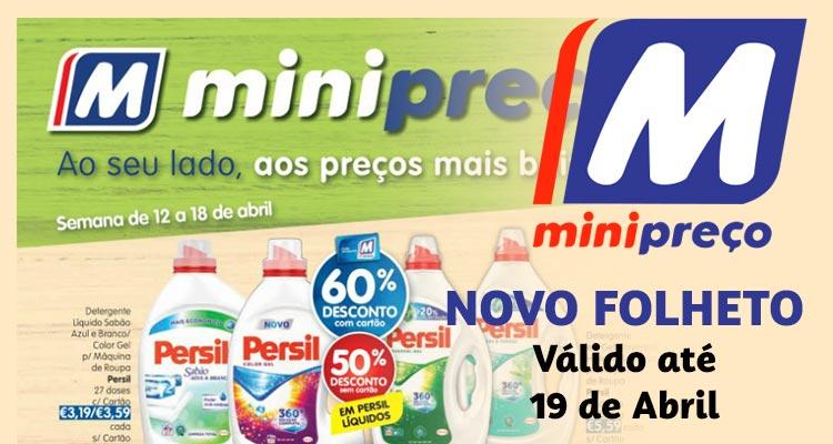 Folheto Minipreço até 19-04-2018