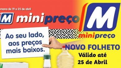 Folheto Minipreço até 25-04-2018