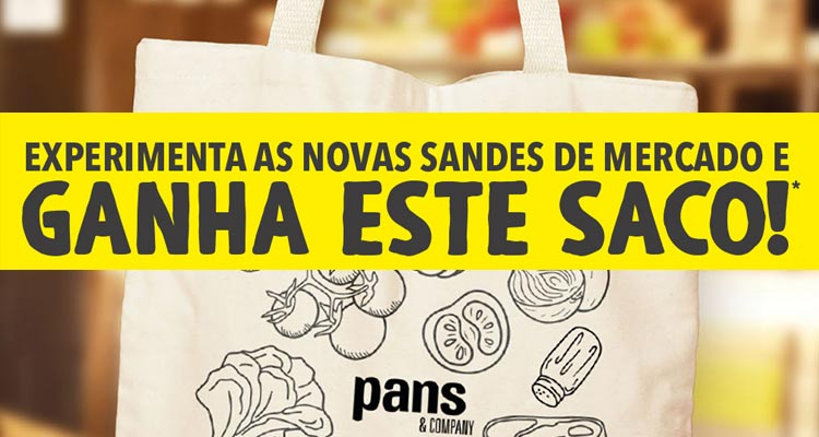 Ganha 1 Saco Pans & Company