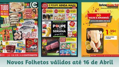 Novos Folhetos até 16-04-2018