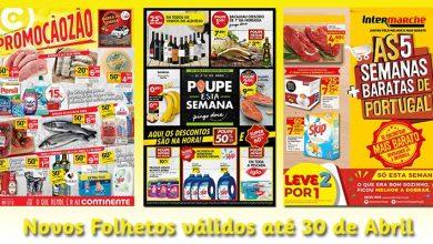 Novos Folhetos até 30-04-2018