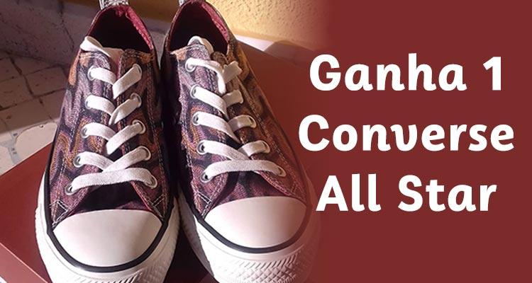 Ganha 1 Converse All Star