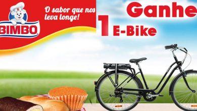 Ganha 1 E-Bike com Bimbo