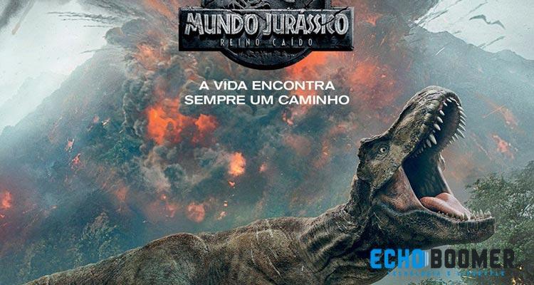 """Ganha Convites para a Antestreia de """"Mundo Jurássico - Reino Caído"""""""
