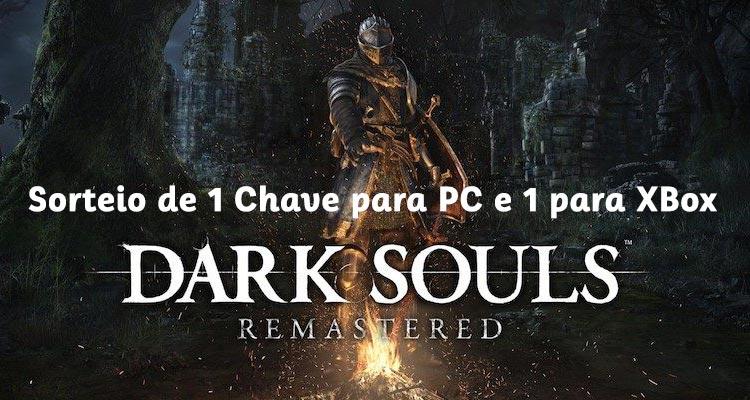 Ganha o jogo Dark Souls Remastered