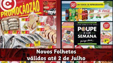 Folhetos Continente e Pingo Doce até 02-07-2018