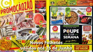 Folhetos Continente e Pingo Doce até 25-06-2018