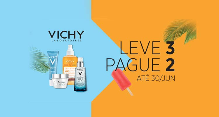 Photo of Leve 3 Pague 2 Produtos Vichy