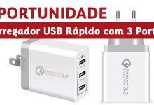 Oportunidade - Carregador USB Rápido