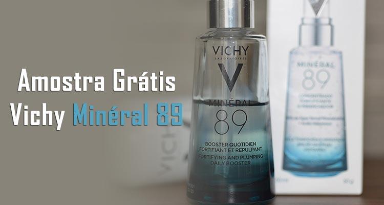 Amostra Grátis Minéral 89 da Vichy