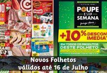 Folhetos Continente e Pingo Doce até 16-07-2018