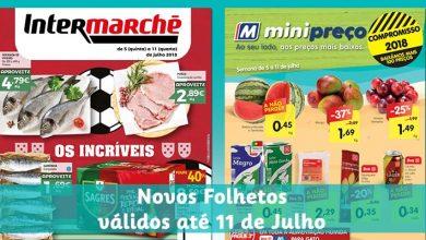 Folhetos Minipreço e Intermarché ate-11-07-2018
