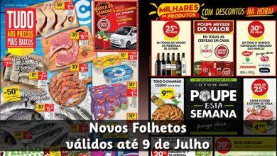 Folhetos Pingo Doce e Continente até 09-07-2018