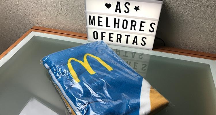 Photo of Recebido – Toalha de Praia McDonald's