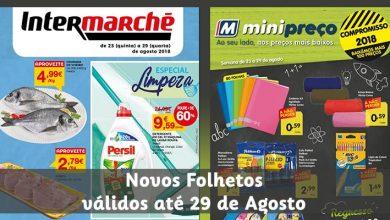 Photo of Minipreço e Intermarché até 29 Agosto 2018