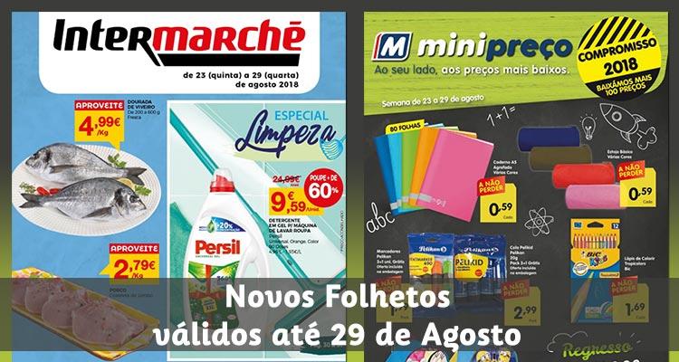 Folhetos Intermarché e Minipreço até 29-08-2018