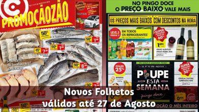Folhetos Pingo Doce e Continente até 27-08-2018