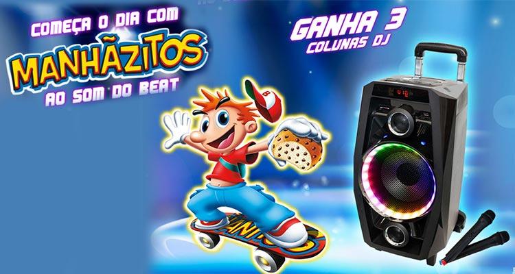 Ganha Colunas DJ com Manhãzitos
