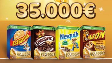 Encontra o Cereal Dourado da Nestlé
