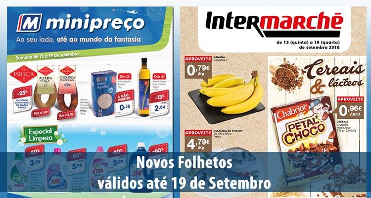 Photo of Minipreço e Intermarché até 19 Setembro 2018