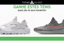 Ganha 1 Ténis Nike Yeezy ou Huarache