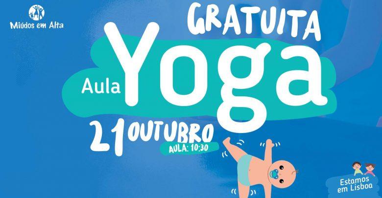 Aula de Yoga Grátis