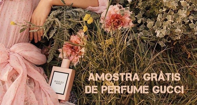 Amostra Grátis de Perfume Gucci