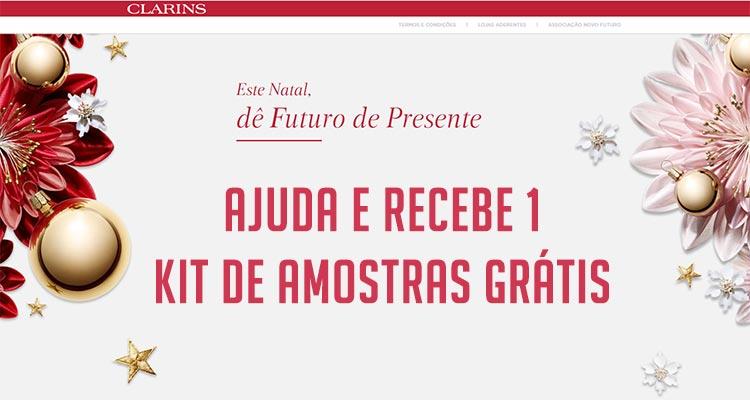 Photo of Consegue 1 Kit de Amostras Grátis Clarins