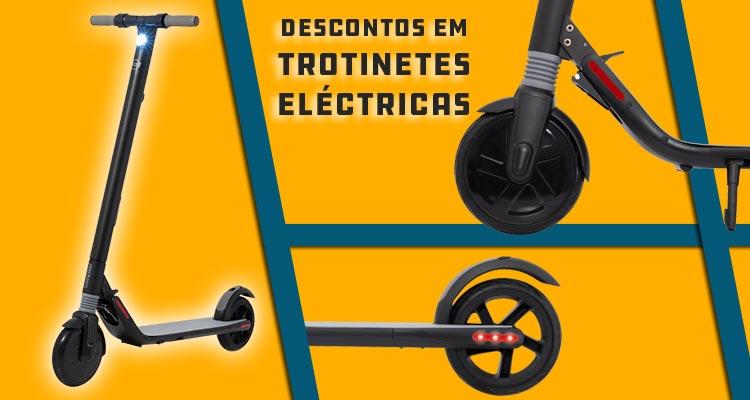 Descontos em Trotinetes Eléctricas